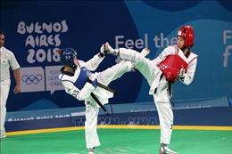 Olympic trẻ 2018: Taekwondo Việt Nam mất cơ hội có HCV