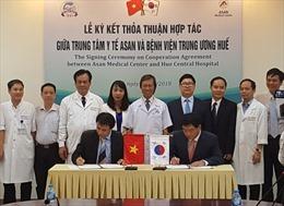 BV Trung ương Huế hợp tác với Trung tâm y tế ASAN thực hiện chương trình ghép gan