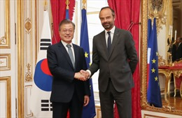 Pháp và Hàn Quốc tăng cường quan hệ song phương