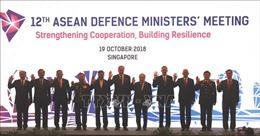 ADMM 12: ASEAN tăng cường hợp tác chống khủng bố và đảm bảo an ninh biển