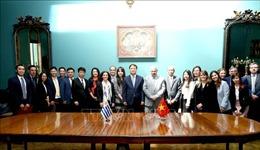 Kỷ niệm 25 năm thiết lập quan hệ ngoại giaoViệt Nam-Uruguay