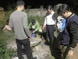 Đình chỉ công tác lãnh đạo và nhiều nhân viên Công ty URENCO 6 vì để rò rỉ nước thải