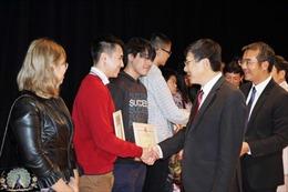 Lan tỏa tinh thần hiếu học trong cộng đồng người Việt Nam tại CH Séc
