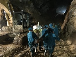 Vụ sập hầm khai thác vàng trái phép ở Hòa Bình: Đã tìm thấy thi thể nạn nhân cuối cùng