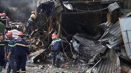 Cửa hàng văn phòng phẩm bất ngờ bốc cháy, một người tử vong