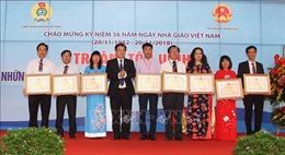 'Thay lời tri ân': Tôn vinh 183 nhà giáo tiêu biểu toàn quốc