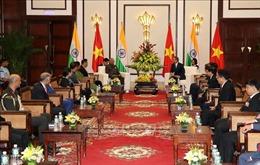 Bí thư Thành ủy Đà Nẵng Trương Quang Nghĩa hội kiến Tổng thống Ấn Độ Ram Nath Kovind