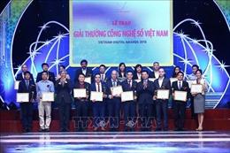 34 sản phẩm, dịch vụ công nghệ số nhận Giải thưởng Công nghệ số Việt Nam 2018