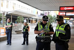 Australia bắt giữ 3 nghi can khủng bố