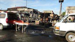 Vụ cháy xe bồn chở xăng dầu: Thăm hỏi, hỗ trợ các gia đình có nạn nhân tử vong