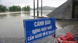 Mưa lũ gây ngập lụt trên diện rộng, chia cắt nhiều khu dân cư tại Phú Yên