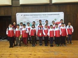 Học sinh Hà Nội đạt thành tích cao tại Cuộc thi 'Vô địch các đội tuyển Toán thế giới'2018