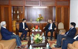 Thủ tướng Nguyễn Xuân Phúc tiếp nguyên Phó Thủ tướng Đức mang dòng máu Việt