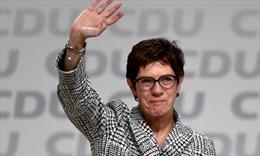 Bà Annegret Kramp-Karrenbauer trở thành Chủ tịch mới của đảng CDU