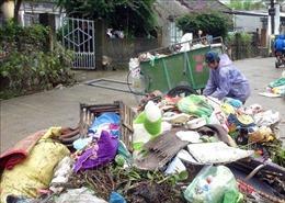 Phòng tránh dịch bệnh bùng phát sau mưa lũ tại Quảng Nam