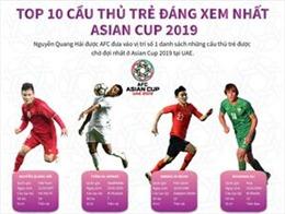 Top 10 cầu thủ trẻ đáng xem nhất ASIAN Cup 2019