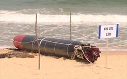 'Vật thể lạ' tại vùng biển Phú Yên là ngư lôi bắn tập của nước ngoài