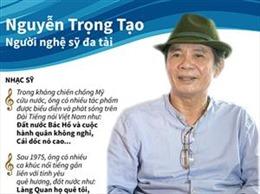 Nguyễn Trọng Tạo - Người nghệ sỹ đa tài