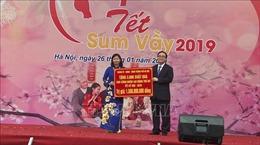 Bí thư Thành ủy Hà Nội dự Tết sum vầy cùng hàng nghìn công nhân lao động Thủ đô