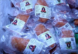 Hà Nội tạm giữ hàng trăm hộp bánh kẹo, thực phẩm đông lạnh không rõ nguồn gốc