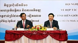 Thông cáo chung Hội nghị Hợp tác,Phát triển các tỉnh biên giới Việt Nam - Campuchia lần 10