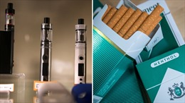 Nâng độ tuổi được mua thuốc lá điện tử từ 18 lên 21
