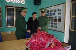 Bắt đối tượng vận chuyển pháo qua biên giới tại Lào Cai