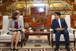 Hà Nội và Canada tăng cường quan hệ hợp tác trên nhiều lĩnh vực