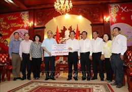 Bí thư Thành ủy TP Hồ Chí Minh thăm, chúc Tết Đảng bộ và nhân dân tỉnh Tây Ninh