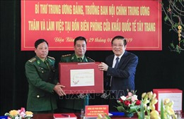 Trưởng Ban Nội chính Trung ương thăm và chúc Tết tại Điện Biên