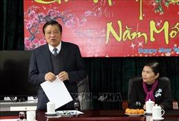 Trưởng Ban Nội chính Trung ương Phan Đình Trạc làm việc tại tỉnh Lai Châu