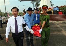 Kiên Giang: Tổ chức Lễ truy điệu, an táng 39 hài cốt liệt sỹ