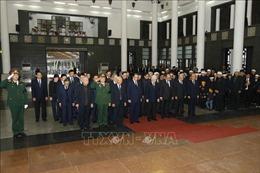 Lãnh đạo Đảng, Nhà nước viếng nguyên Chủ tịch Hội đồng Lý luận Trung ương Nguyễn Đức Bình
