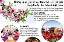 Những quốc gia và vùng lãnh thổ cùng đón Tết Âm lịch với Việt Nam