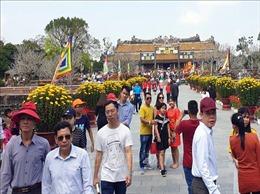 Ngày mùng 1 Tết có khoảng 25.000 khách 'xông đất'di tích Cố đô Huế