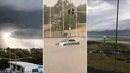 Bão mạnh đổ bộ gây ngập lụt, ách tắc giao thông tại Sydney