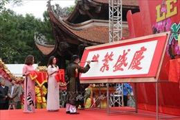 Khai bút, khai mạc Hội sách Xuân Kỷ Hợi tại Đền thờ Chu Văn An