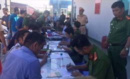 3 tài xế xe container vào Cảng Phú Hữu dương tính ma túy