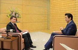 Tổng giám đốc TTXVN Nguyễn Đức Lợi thăm và làm việc tại Nhật Bản