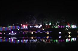 Lung linh lễ hội ánh sáng lần đầu tiên được tổ chức tại Yên Bái