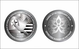 Phát hành Bộ sản phẩm đồng xu bạc chào mừng Hội nghị thượng đỉnh Mỹ-Triều Tiên lần 2