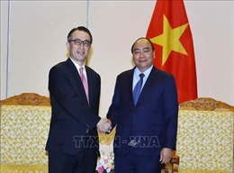 Thủ tướng Nguyễn Xuân Phúc tiếp Tổng giám đốc Ngân hàng MUFG, Nhật Bản