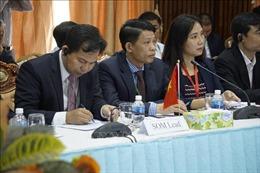 Khai mạc cuộc họp SOM Hội nghị Ủy ban điều phối Tam giác Phát triển Việt Nam – Lào – Campuchia lần thứ 12