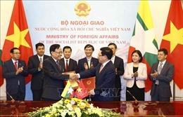 Quan hệ chính trị Việt Nam - Myanmar ngày càng tin cậy và gắn bó