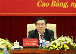 Phó Thủ tướng Vương Đình Huệ: Giải quyết được bài toán giao thông kết nối, Cao Bằng sẽ bứt phá hơn