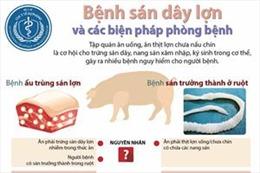 Bệnh sán dây lợn và biện pháp phòng chống
