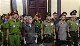 Y án sơ thẩm đối với 5 bị cáo là thành viên của 'Liên minh dân tộc Việt Nam'