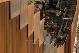 Lầu Năm Góc trình Quốc hội các dự án có thể phục vụ xây dựng bức tường biên giới