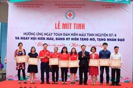 Nhiều mô hình hiến máu tình nguyện được nhân rộng ở Hà Nội