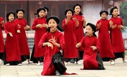 Trình diễn hát Xoan ba thế hệ tại Việt Trì, Phú Thọ